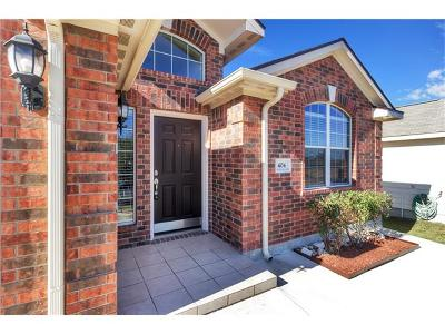 Williamson County Single Family Home For Sale: 404 Captain Grumbles Dr