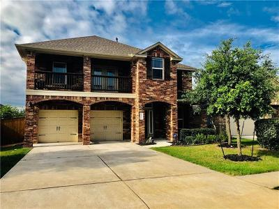 Round Rock Single Family Home For Sale: 3616 Rosalina Loop
