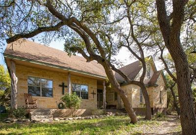 Wimberley Single Family Home Active Contingent: 1101 N Rainbow Ranch Rd