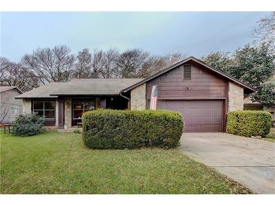Austin Single Family Home For Sale: 11608 Fence Post Trl