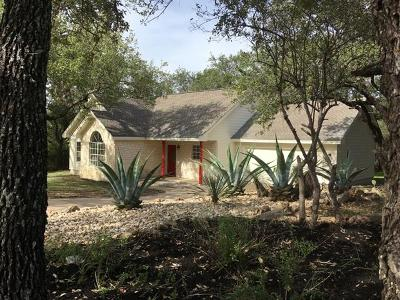 Spicewood Single Family Home Pending - Taking Backups: 22304 Elgin Dr