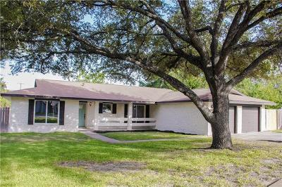 Round Rock Single Family Home For Sale: 609 Dove Haven Dr