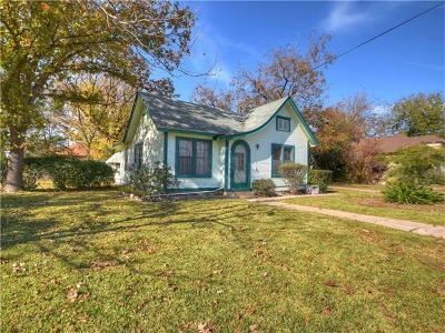 Williamson County Single Family Home Pending - Taking Backups: 103 N Brazos