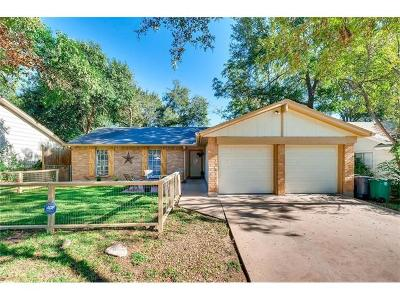 Austin Single Family Home For Sale: 1004 Stoneoak Ln
