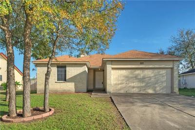 Cedar Creek TX Single Family Home For Sale: $172,000