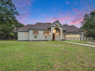 Wimberley Single Family Home For Sale: 507 Mountain Crest Dr