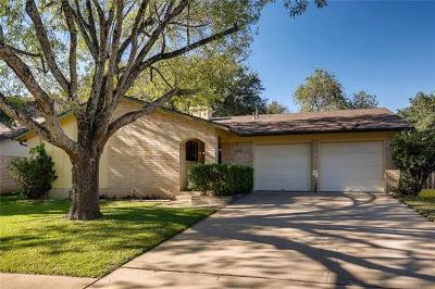 Austin Single Family Home For Sale: 11708 Running Fox Trl