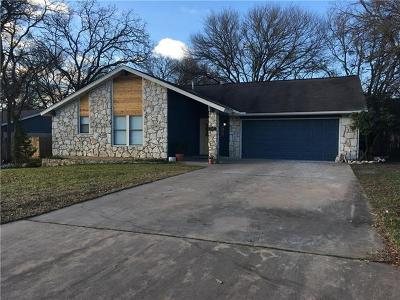 Georgetown Single Family Home For Sale: 3418 Lonesome Trl
