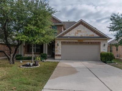 Cedar Park Single Family Home For Sale: 520 Cameron Cv