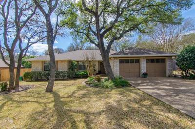 Austin Single Family Home Pending - Taking Backups: 9303 Mystic Oaks Trl