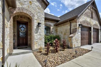 Round Rock Single Family Home For Sale: 5862 Casstello Dr