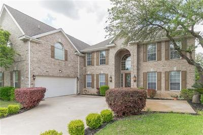 Round Rock Single Family Home For Sale: 2244 Hamlet Cir