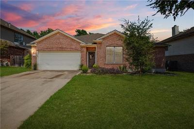 Pflugerville Single Family Home For Sale: 212 Settlers Valley Dr
