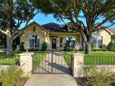 Austin Single Family Home Active Contingent: 10613 River Plantation Dr