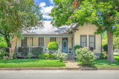 Bastrop County Single Family Home Active Contingent: 608 Pecan St