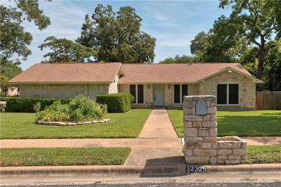 Travis County, Williamson County Single Family Home For Sale: 12325 Double Tree Ln
