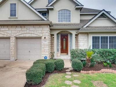 Travis County Single Family Home Pending - Taking Backups: 1200 Shannon Oaks Trl