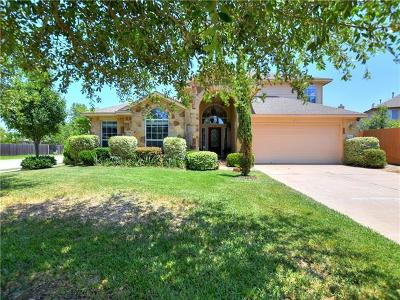 Austin Single Family Home Pending - Taking Backups: 15524 Staked Plains Loop