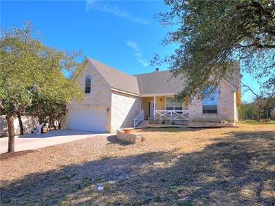 Wimberley Single Family Home For Sale: 11 Arrow Point Cir