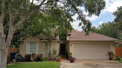 Leander Single Family Home For Sale: 1513 Deepwoods Trl