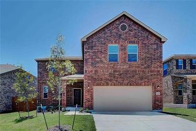 Georgetown Single Family Home For Sale: 1224 Half Hitch Trl