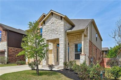 Round Rock Single Family Home Pending - Taking Backups: 3451 Mayfield Ranch Blvd #363