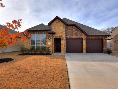 Hutto Single Family Home For Sale: 1011 Beacon Cv