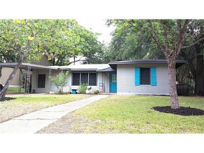 Austin Single Family Home For Sale: 1302 Glencrest Dr