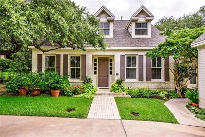 Austin Single Family Home For Sale: 2808 Montebello Rd #8