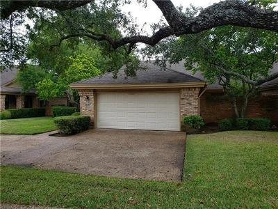 Austin Condo/Townhouse For Sale: 10913 Crown Colony Dr #1540L
