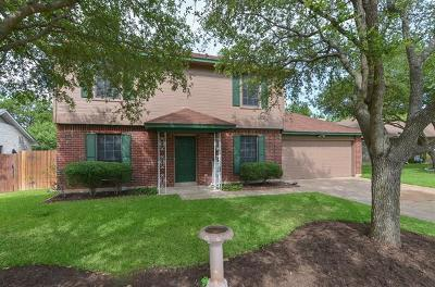 Cedar Park Single Family Home For Sale: 2008 Yaupon Trl