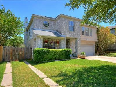 Cedar Park Single Family Home For Sale: 1132 Welch Way