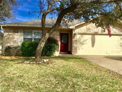 Cedar Park Single Family Home For Sale: 2106 Barnett Dr