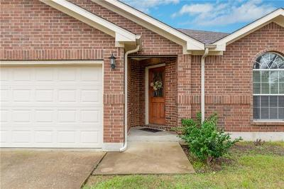 Pflugerville Single Family Home For Sale: 20612 Bellerive Dr