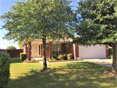Round Rock Rental For Rent: 2108 Pearson Way