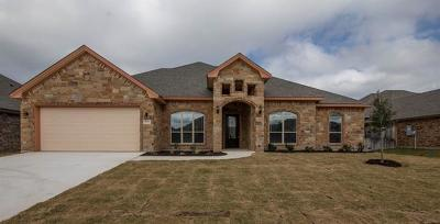 Killeen Single Family Home For Sale: 3603 Dodge City Dr