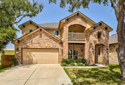 Leander Single Family Home For Sale: 2305 Cactus Valley Dr