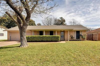 Austin Single Family Home For Sale: 9821 Childress Dr