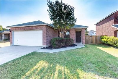 Round Rock Single Family Home Pending - Taking Backups: 3257 Elizabeth Anne Ln
