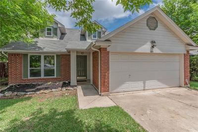 Leander Single Family Home Pending: 604 Clearcreek Dr
