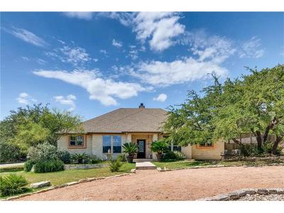 Lago Vista Single Family Home For Sale: 2500 Whittier Cv
