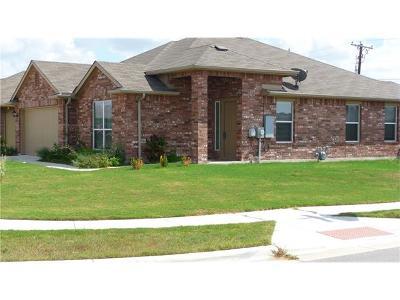 Hutto Single Family Home For Sale: 402 Foxglove Dr