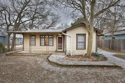 Austin Single Family Home For Sale: 603 W Croslin St