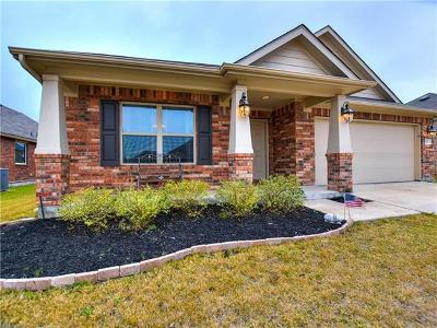 Hutto Single Family Home For Sale: 113 Plantain Dr