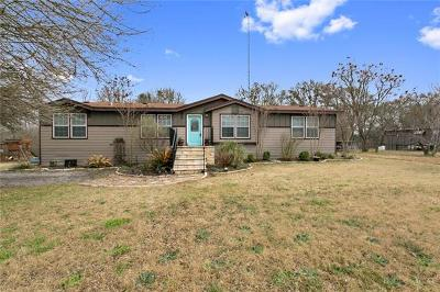 Red Rock Single Family Home Pending - Taking Backups: 682 Fm 812