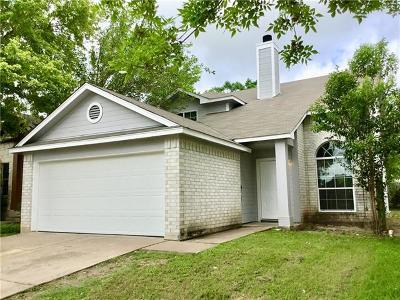 Pflugerville Single Family Home Pending - Taking Backups: 21218 Derby Day Ave