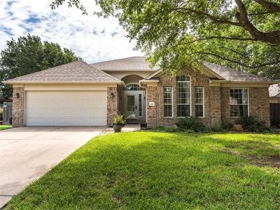 Round Rock Single Family Home Pending - Taking Backups: 3205 Dawn Mesa Ct