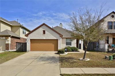 Manor Single Family Home Pending - Taking Backups: 13828 Fall Springs Way