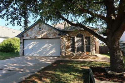 Round Rock Single Family Home Pending - Taking Backups: 1606 Sundance Dr