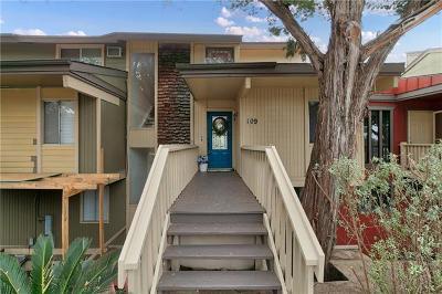 Point Venture Condo/Townhouse For Sale: 109 Comanche Pt